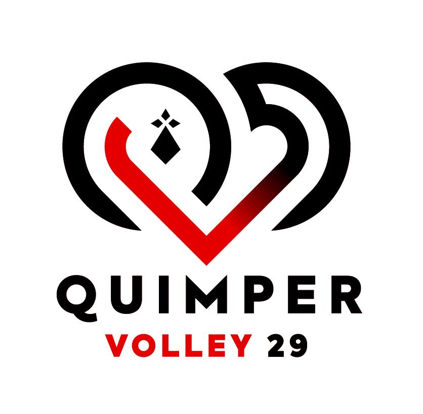 QUIMPER VOLLEY 29 COUP D'ENVOI
